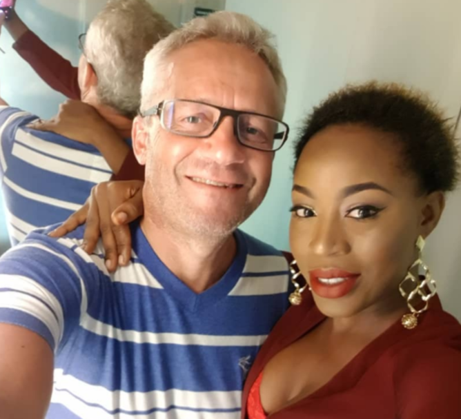 Alizee and husband Peter Nielsen e-NIGERIA!