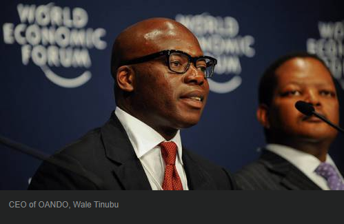 Dozier of how Wale Tinubu, Alake of Egba Land ruined Oando Plc | e-nigeria - www.e-nigeriang.com