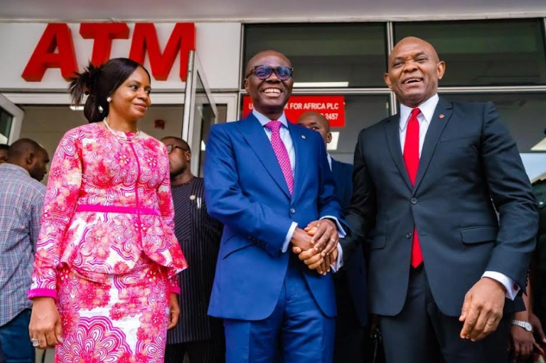 Sanwo-Olu Commissions Ultra-Modern Afriland Towers | e-nigeriang.com