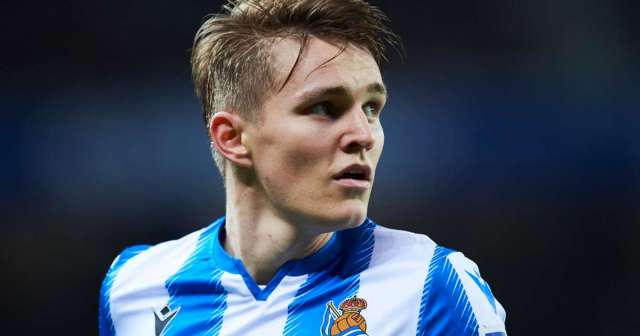 Real Madrid recall Odegaard from Real Sociedad loan